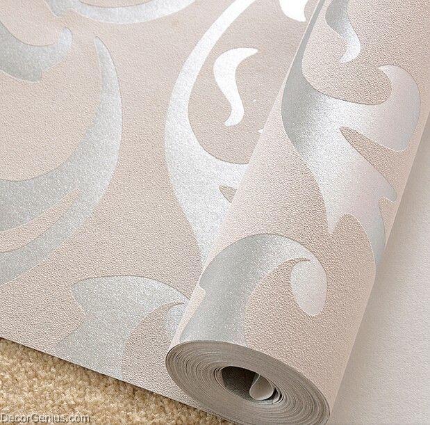 Silver Wallpaper Bedroom  Silver Wallpaper Bedroom Popular Design Modern  Style Decorgenius Dgwp004. Silver Wallpaper Bedroom  Silver Wallpaper Bedroom Gray Features
